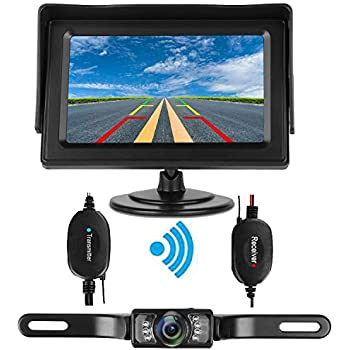 Amazon Com Istrong Backup Camera Wireless And Monitor Kit