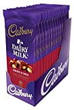 CADBURY Chocolate Candy Bar, Fruit and Nut, 3.5 Ounce (Pack of 14)