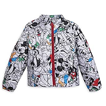 Disney Mickey Mouse and Friends Winter Jacket for Kids - Size 2 Gray