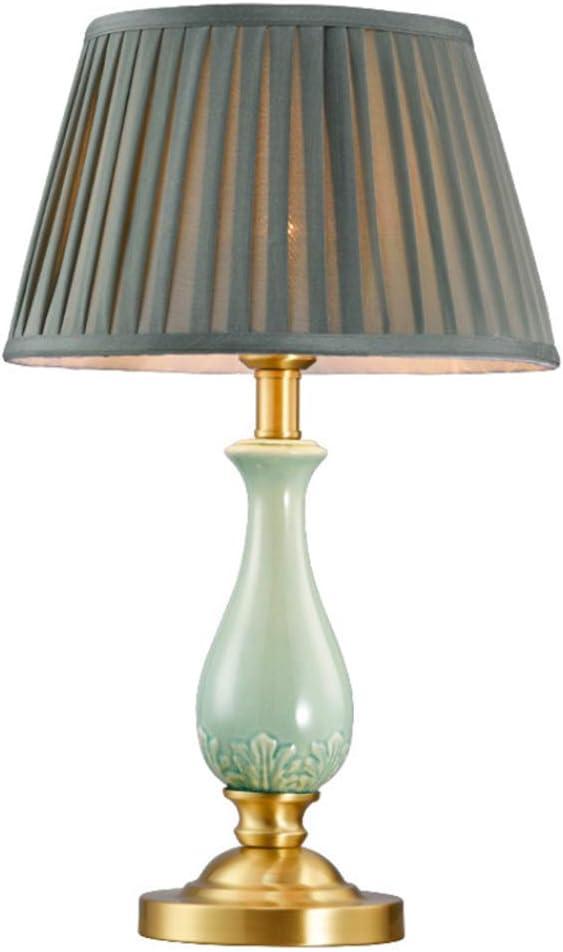 Jade Green Ceramic Table Lamp