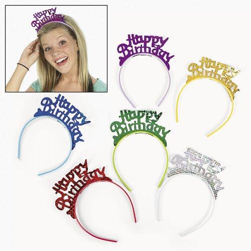 Happy Birthday Headbands (1 dz)