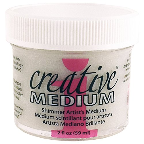 Imagine Crafts Creative Medium Glue for Arts and Crafts, 2-Ounce, Shimmer