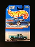 Hot Wheels - 1998 First Editions - Customized C3500 - Chevy Pickup - Die Cast - Green - #26 of 40 - Collector #663 - Limited Edition - Collectible 1:64 Scale