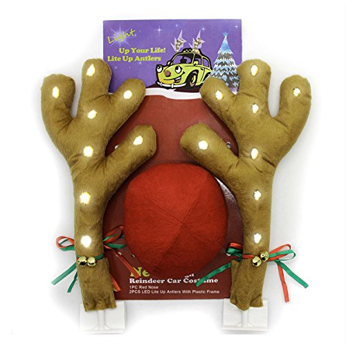 Led Lighted Buck Reindeer