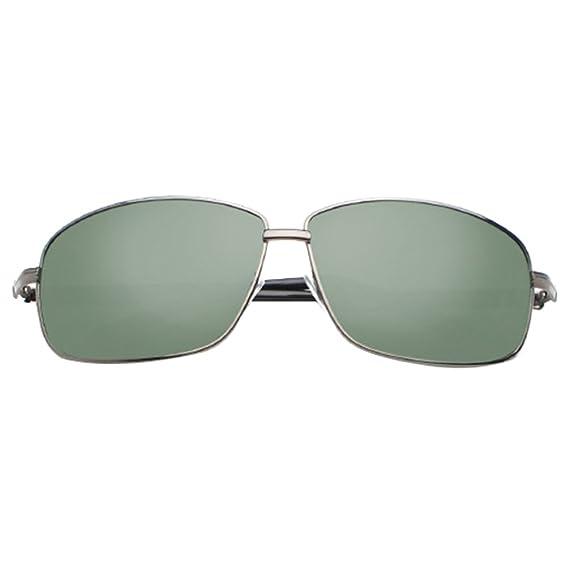 LINNUO Gafas de Sol Hombre Mujer Aviador Polarizadas Vintage Metal Sunglasses Lentes Protección UV400 Eyeglasses (#1Verde, One Size): Amazon.es: Ropa y ...