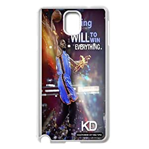 High Quality -ChenDong PHONE CASE- For Samsung Galaxy NOTE4 Case Cover -Kevin Durant wallpaper-UNIQUE-DESIGH 6