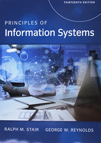Principles of Information Systems, Loose-Leaf Version