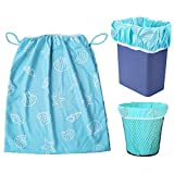 Baby Diaper Nappy Wet Bag, Waterproof Washable Reusable Diaper Pail Liner Or Wet Bag For Cloth Nappies Or Dirty Laundry