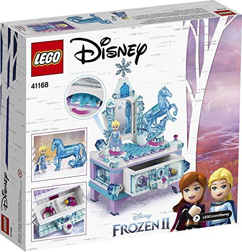 LEGO Disney Frozen II Elsa's Jewelry Box Creation 41168 Disney Jewelry Box Building Kit with Elsa Mini Doll and Nokk…