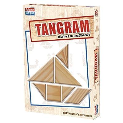 Falomir 646484 Tangram Gioco Legno
