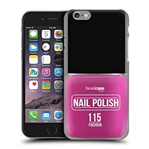Head Case Designs Fuchsia Nail Polish Protective Snap-on Hard Back Case Cover for Apple iPhone 6 4.7