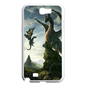 case Of Dragon Customized Bumper Plastic Hard Case For Samsung Galaxy Note 2 N7100