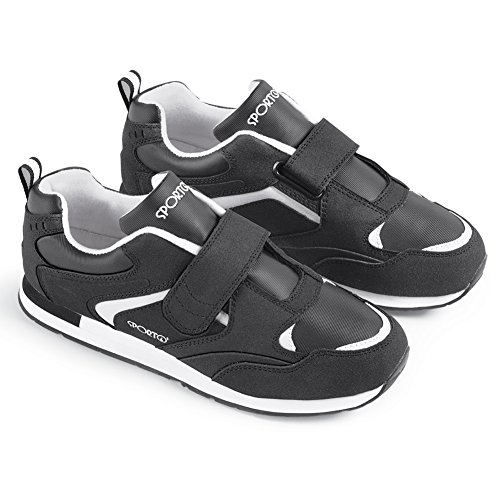 Sporto Menns Fitness Sneaker Svart