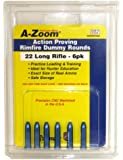 A-Zoom 6-Pack Precision Dummy Rounds fits 22 LR Action Proving