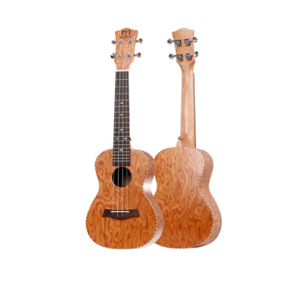GUYUEXUAN Ukulele, Black Tech Wood Ukulele, Ukulele, Guitarra for ...