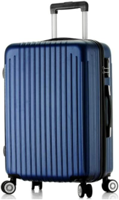 Color : Blue, Size : 24 inches Runtongshanghang Universal Wheel Trolley case wear-Resistant Anti-Fall 20 inch Suitcase Men and Women suitcases Boarding The case Silver