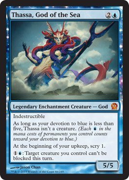 Magic: the Gathering - Thassa, God of the Sea - Theros - Foil by Magic: the Gathering