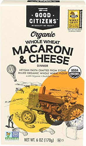 Price comparison product image Good Citizens Whole Wheat Organic Macaroni and Cheese