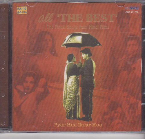 All the Best -Pyar Hua Ikraar Hua - The Finest Collection of Hindi Films [Cd]
