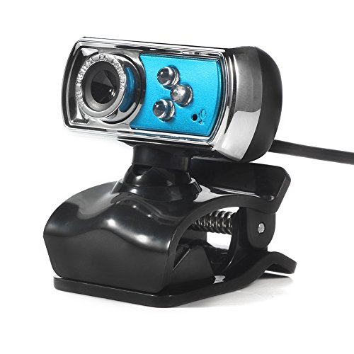 USB 12.0MP HD Camera Web Cam 360 MIC Clip-on for Skype Computer - 4