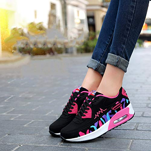 red 66 Air Walking Town Sneaker Women's No rose Running Fashion Shoes Casual 957 7BRdWtntx