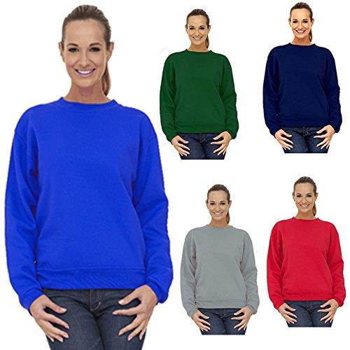 8 Unisexe Lumière Coupe 247 28 clothing Bordeaux Ample shirt nbsp;à Femmes Taille Sweat nbsp;plus 0wEzqSE