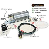 GZ550 Fireplace Blower Kit for Continental, Napoleon Fireplaces; Rotom #HBRB58