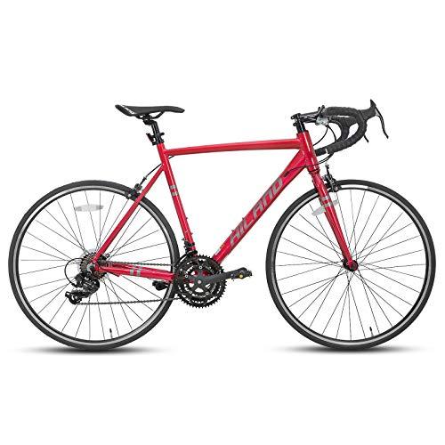 Hiland Racefiets 700c racefiets aluminium City Commuter fiets met 21 snelheden