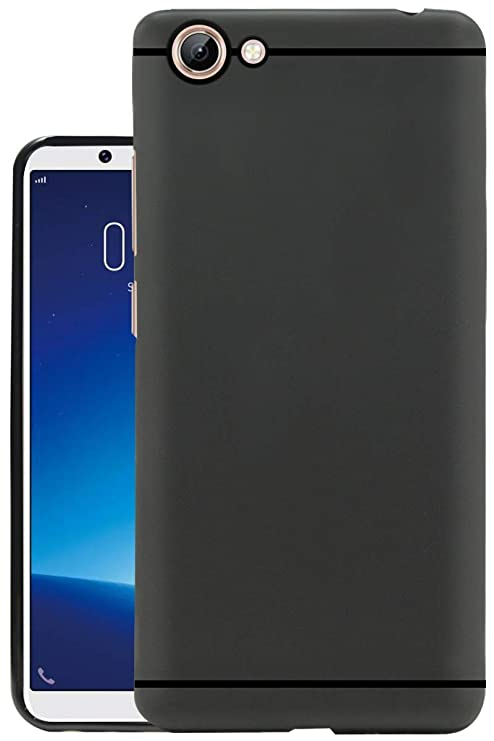 on sale eed3b ab343 Kitgohut Soft Feel Rubberised Back Cover for Vivo V71: Amazon.in ...