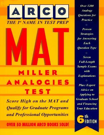Mat: Miller Analogies Test (Arco Master the Miller Analogies Test)