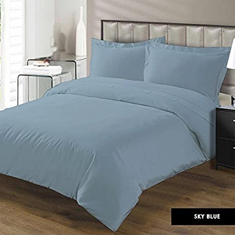 Luxurious 100 Egyptian Cotton 600 Thread Count 5Pc Bedding Set 1 Flat Sheet 1 Fitted Sheet 2 Pillowcases And 1 500 GSM Comforter Solid By Kotton Culture 27 Deep Pocket TwinXL