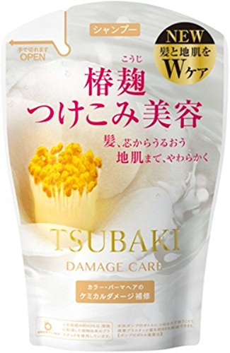 Tsubaki Damage Care Shampoo Refill 380ml 2015 Spring Edition Japan