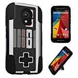 DuroCase ® Motorola Moto G 2nd Gen XT1063 XT1064 (Released in 2014) Kickstand Bumper Case – (Game Controller) Review