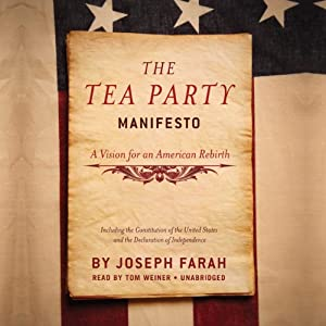 The Tea Party Manifesto Audiobook