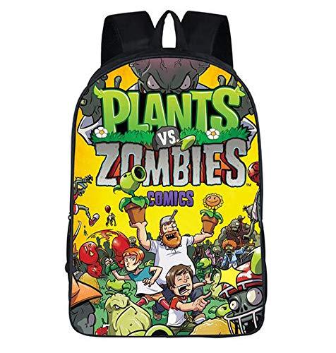 Unisex Pupils Cartoon Students Schoolbag Backpack (Color A) ()
