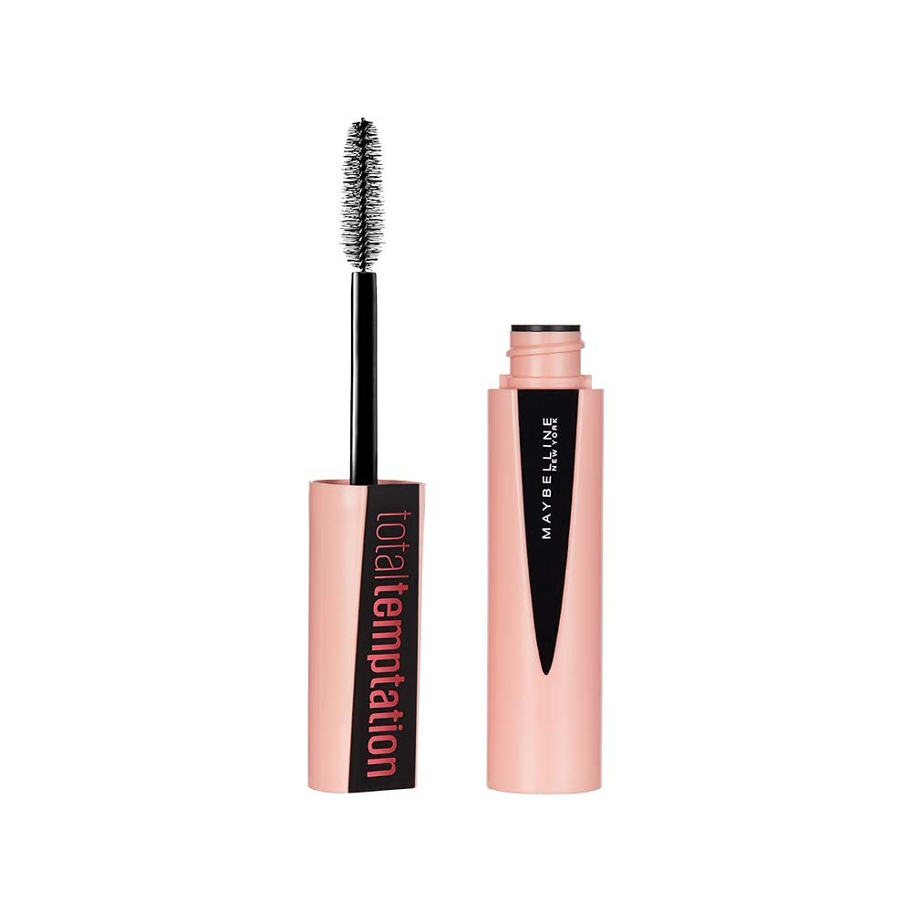 Maybelline New York Total Temptation Mascara, Blackest Black, 8.25 ml