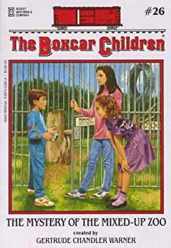 The Mystery of the Mixed-Up Zoo (Boxcar Children 0807553859 Book Cover