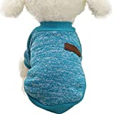 Pet Clothes For Small Dog Girl Dog Boy Soft Warm Fleece Clothing Winter (S,...