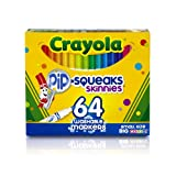 Crayola 64 Ct Pip-Squeak Skinnies Washable Markers