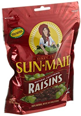 Sun Maid Natural California Raisins, 12 Ounce (Pack of 12) from Sun Maid