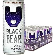 Black Bear Energy, Energy Drink 8.4 Ounce (Pack of 24)