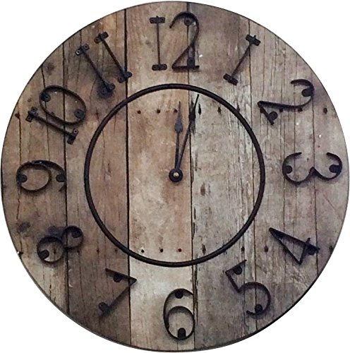 時計 バレル クロック 直径40.5cm 1649 B013E3QAJO