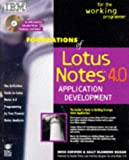 Foundations of Lotus Notes X Application Development, Kerwien, Erica, 1568843453
