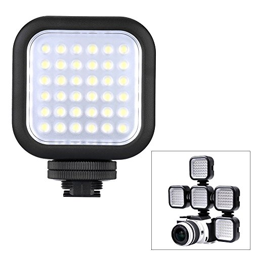 Godox Dimmable Ultra Bright Portable 260LUX CN36 Continuous On Camera Led Light Panel for Camera Camcorder Video(Fit Canon Sony Nikon almost DSLR Camera) by Godox