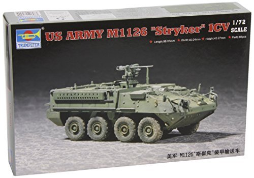 Trumpeter 1/72 Stryker ICV Light Armored Vehicle [並行輸入品] B01K1X9XGM