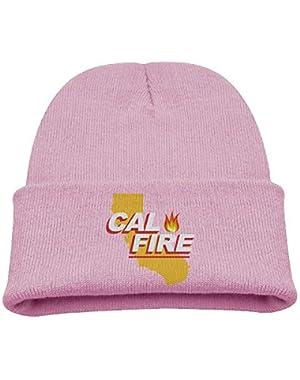 Southern California Strong Cal Fire Boy Girl Beanie Hat Knitted Beanie Knit Beanie