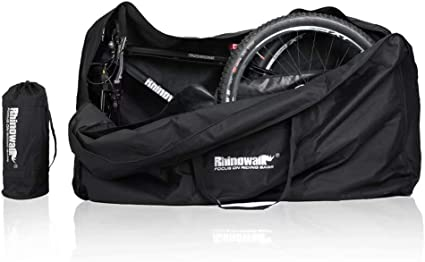 New Bicycle Bike Travel Bag Transport Case with wheels for road bike