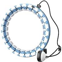 YYCX Smart Hula Hoop Gewichtsverlies Hula Hoop Gewogen Fitness Hula Hoop 24 Secties Vrij gesplitst?? om de maat 360…