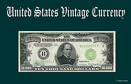 Computer Desktop Mouse Pad Vintage Old U.S. Currency Art 10,000 Ten Thousand Dollar Bill 1934 Federal Reserve Note