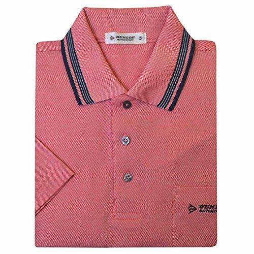 (ダンロップ)DUNLOP メンズ半袖ポロシャツ 胸ポケット付き dp15-183d031